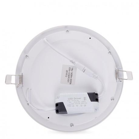 ECOLINE Circular LED Slimline Downlight 225mm 18W 1409Lm 30.000H