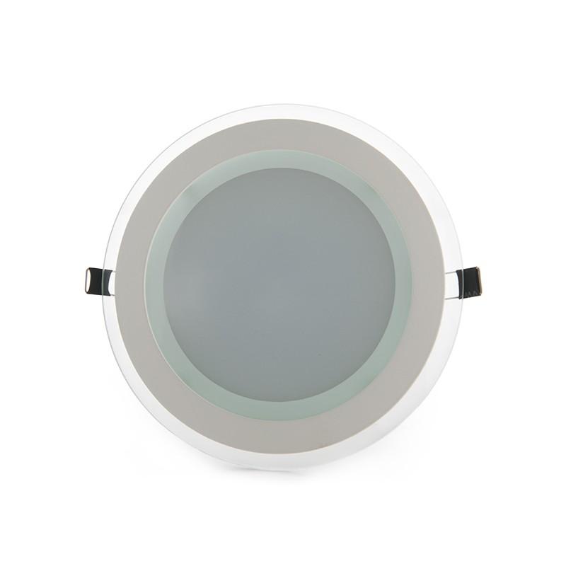 Downlights de LEDs Circular de LEDs con Cristal Ø200mm 15W 1150Lm 30.000H (1)