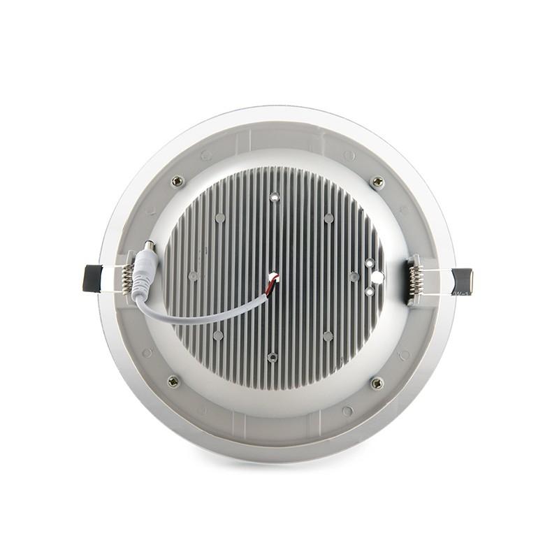 Downlights de LEDs Circular de LEDs con Cristal Ø200mm 15W 1150Lm 30.000H (3)