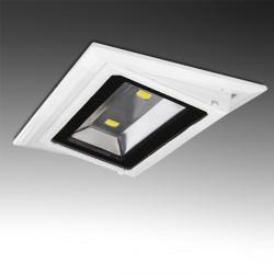 Rectangular Tilting LED Downlight COB 20W 1800Lm 30.000H