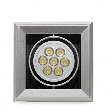 Square LED Downlight 7W 700Lm 30.000H
