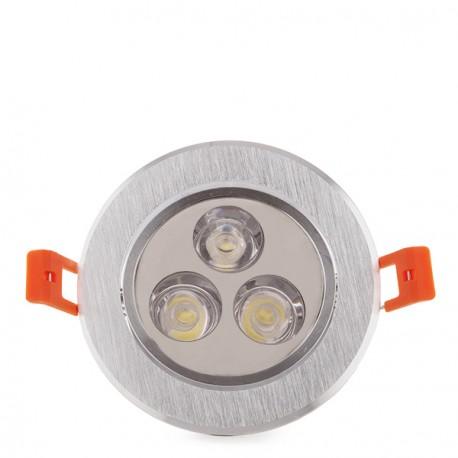 ECOLINE Circular LED Downlight 3W 300Lm 30.000H