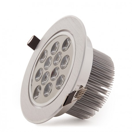 ECOLINE Circular LED Downlight 12W 1200Lm 30.000H
