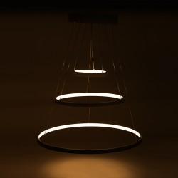 """Lámpara Suspendida de LEDs """"Circle""""  96W 8000Lm"""