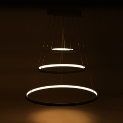 "Suspended lamp with LEDs ""Circle"" 96W 8000LM"