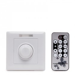 LED Dimmer  12-24VDC . To  96-192W with Remote Control