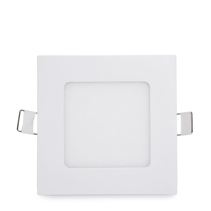 Placa de LEDs Cuadrada ECOLINE 120mm 6W 400Lm 30.000H (1)