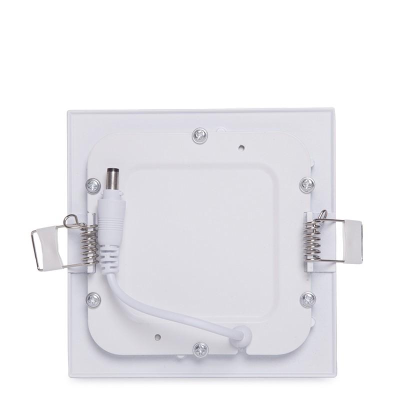Placa de LEDs Cuadrada ECOLINE 120mm 6W 400Lm 30.000H (3)