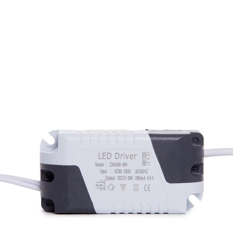 Placa de LEDs Cuadrada ECOLINE 120mm 6W 400Lm 30.000H (4)