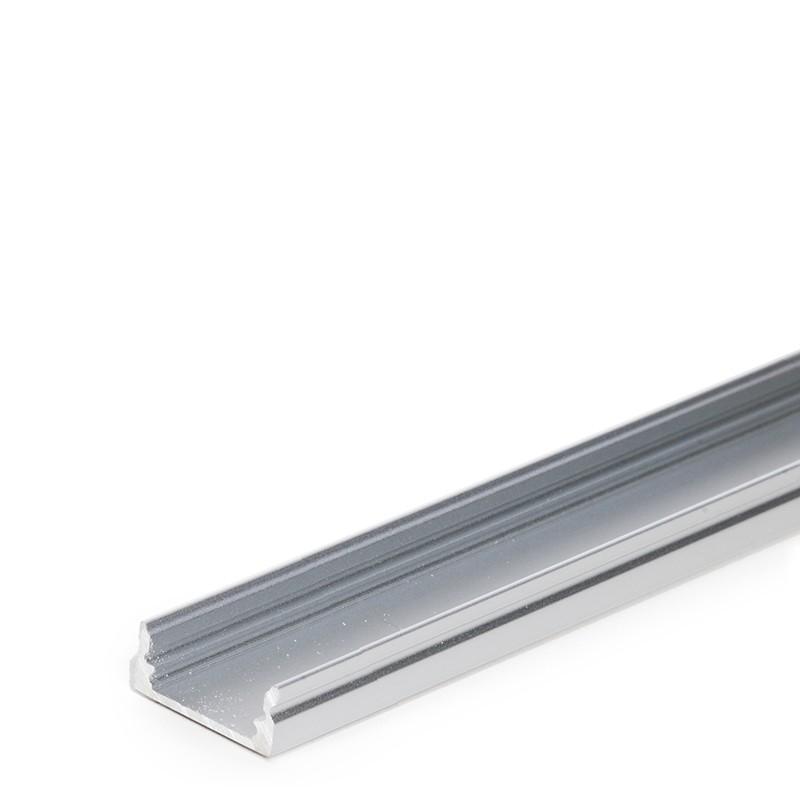 Perf l de aluminio para tira de leds difusor transparente - Tiras de aluminio ...
