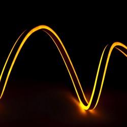 Manguera Neon Flex Emisión Lateral Doble  SMD2835 220-230VAC 12W/M (Por Metro)