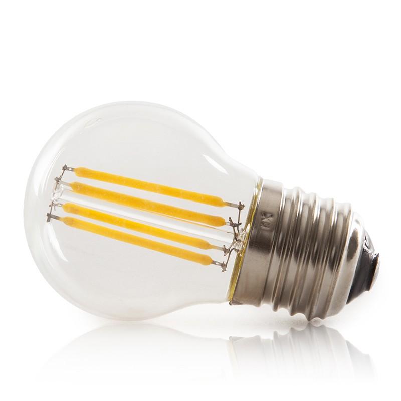 Lampadina a filamento led vintage g45 e27 4w 400lm for Lampadine a filamento led