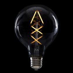 """Vintage"" LED Filament Bulb G95 E27  6W 600Lm"