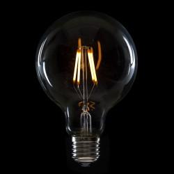 """Vintage"" LED Filament Bulb G95 E27 4W 400Lm"