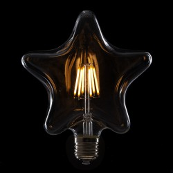 """Vintage"" LED Filament Bulb STAR E27 6W 600Lm"