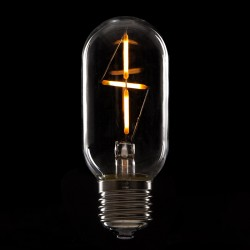 Bombilla LED Filamento Vintage T45 E27 3W 300Lm