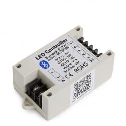 Controlador Tiras de LEDS RGBW Bluetooth por Smartphone 12-24VDC 500-1000W