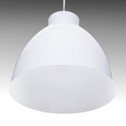 Aluminium Hanging Lamp Ø 300mm (Without Bulb) - White