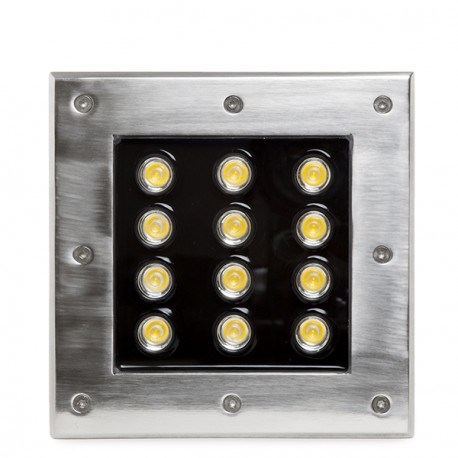Recessed IP67 LED Fitting 12W 1140Lm 30.000H