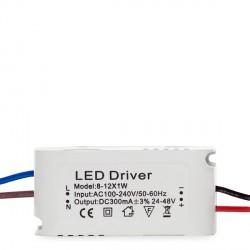 Driver Dimable para Downlights de LEDs ECOLINE 9W