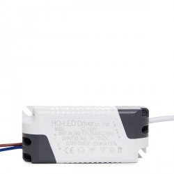 Driver No Dimable para Focos/Downlights LEDs 12W