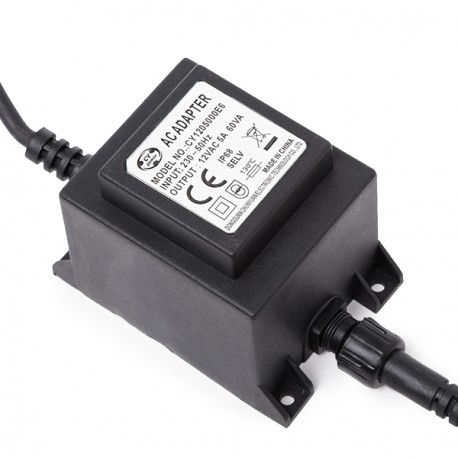 Transformer LED 60W 230VAC/12VAC Submersible IP68