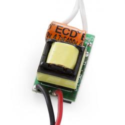 Driver de LEDs para Integrar 4-5W  12-16V  280-300mA