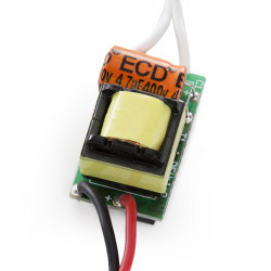 Integrated LED Driver 4-5W 12-16V 280-300mA