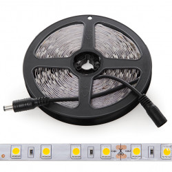 5 Metre 300 LED Strip 60W SMD5050 24VDC IP25