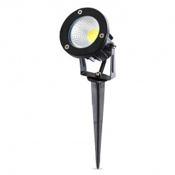 LED Garden Spotlight with Stake 7W 630Lm  50.000H