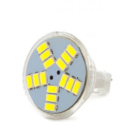 Lámpara LEDs GU4 MR11 2,5W  180Lm 30.000H