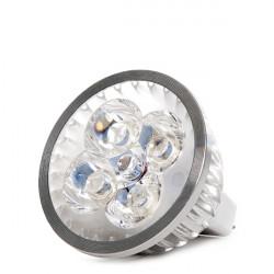 Lámpara LEDs Epistar GU 5,3 MR16 24V 4W 300Lm 50.000H