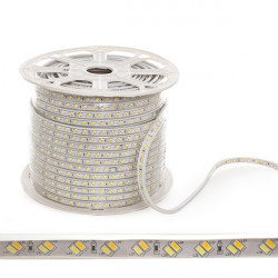 LED Strip 230VAC SMD5630 120LEDs 30W/Metre Warm/Cool IP65 (By the metre)