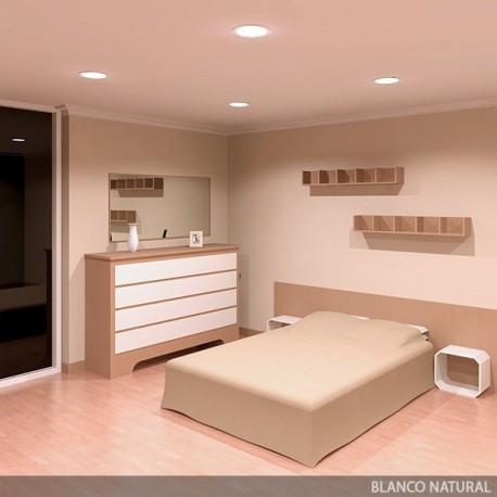 Round LED Slimline Downlight Ecoline 225mm 20W 1800Lm 30.000H