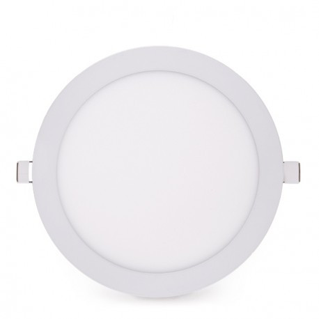 Round LED Slimline Downlight Ecoline 225mm 20W 1800Lm 30.000H