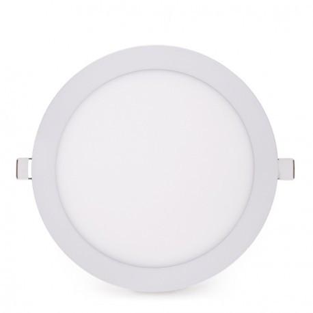Placa de Leds Circular Ecoline 225mm 20W 1800Lm 30.000H