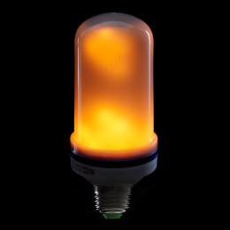 Bombilla de LEDs E27 Efecto Llama 5W 25000H