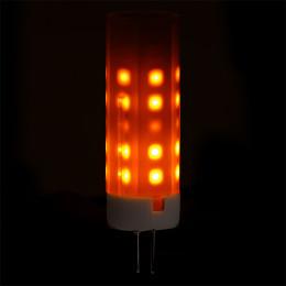 Bombilla de LEDs G4 Efecto Llama 2W 25000H