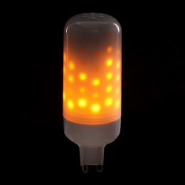 Bombilla de LEDs G9 Efecto Llama 3W 25000H