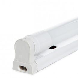 Regleta T8 con Tubo de LEDs Cristal 1200mm 20W 2000Lm 30.000H