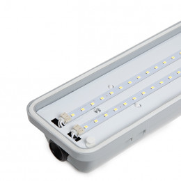 Luminaria de LEDs Estanca IP65 1200mm 40W 4000Lm 30.000H