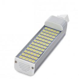 Lámpara Bombilla G24 de 60 LEDs SMD5050 12W 1000Lm 30.000H