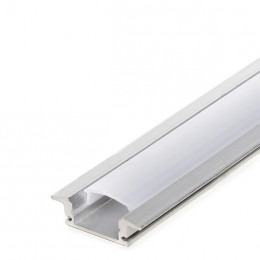 Aluminium LED Profile - Opal Diffuser - 2-Metre Strip
