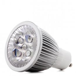 Lámpara Bombilla de 5 LEDs GU10 para Cultivo y Aquarios 5W Rojo/Azul