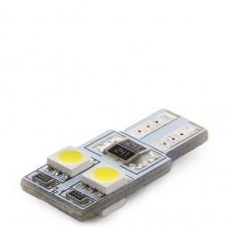Lámpara Bombilla de LEDs Base  T10 4 x 5050SMD