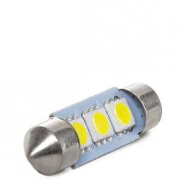 Lámpara Bombilla de LEDs Festoon Canbus SV8,5 SMD5050 36mm