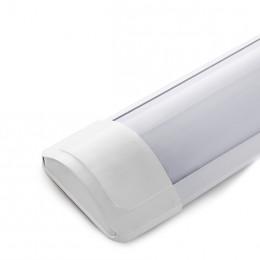 Luminaria de LEDs Lineal de Superficie 600mm 18W 1800Lm 30.000H