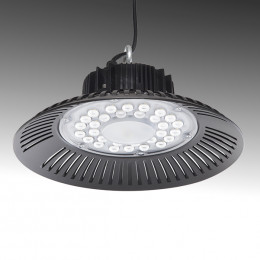 "LED ""High Bay"" UFO  100W SMD 2835 IP65 90º  10000Lm 50.000H"