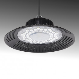 "LED ""High Bay"" UFO  150W SMD 2835 IP65 90º  15000Lm 50.000H"