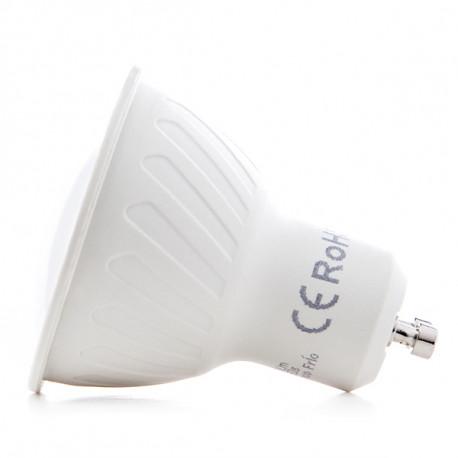 Pack of 5 LED Bulbs 2835SMD GU10 6W 500Lm 30.000H